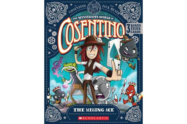 Mysterious World of Cosentino - Missing Ace+Bonus Trick Cards