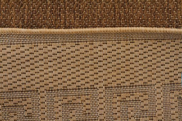 Indoor Outdoor Key Design Rug Brown 270x180cm