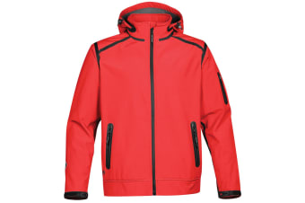 Stormtech Mens Oasis Softshell Jacket (True Red) (S)