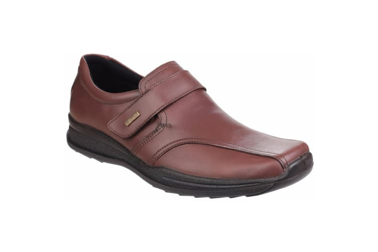 Cotswold Mens Birdlip Waterproof Touch Fasten Shoes (Brown) (12 UK)