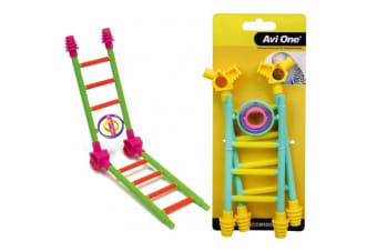 Avi One Bird Toy Construct A Game with Turning Rings