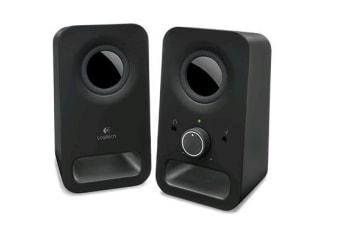 LOGITECH Z150 2.0 Stereo Speakers 6W Compact Size Easily Access to Power &