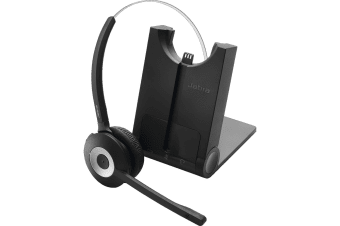 Jabra PRO 930 MS Headset - Skype for Business - Mono - Wireless - DECT - 120 m - Over-the-head -