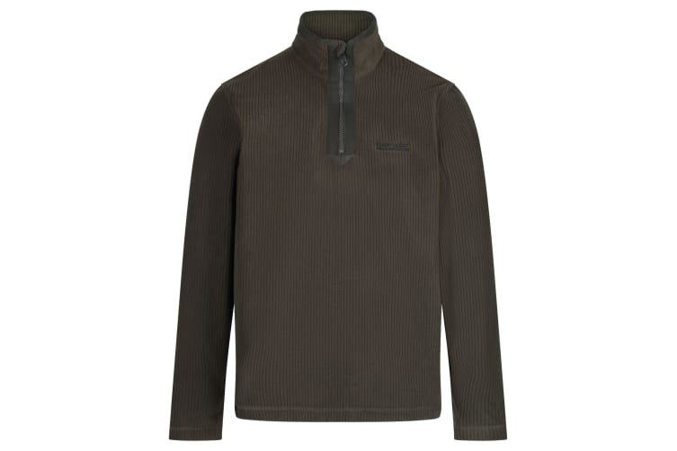 Regatta Mens Elgrid Half Zip Fleece (Bayleaf) (S)