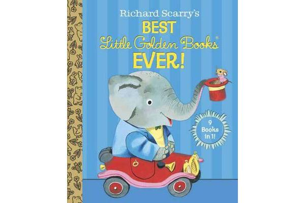 Richard Scarry's Best Little Golden Books Ever! - 9 Books in 1