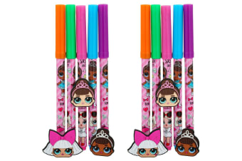 10pc LOL Surprise Art/Craft Multi Colour Pens Drawing/Sketch Markers f/ Kids 3y+