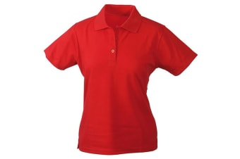James and Nicholson Womens/Ladies Function Polo (Red) (S)