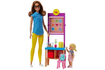 Barbie Careers Teacher Doll Playset - Brunette