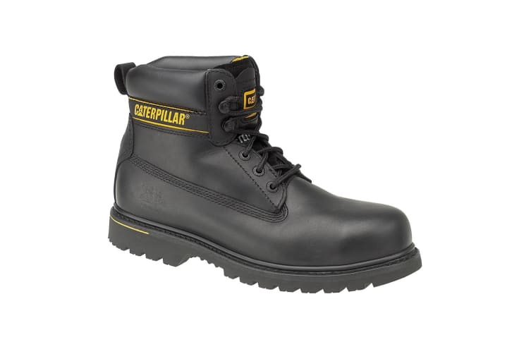 Caterpillar Holton S3 Safety Boot / Mens Boots / Boots Safety (Black) (10 UK)