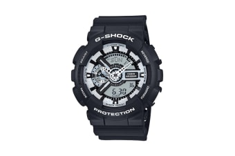 Casio G-Shock Ana-Digital Watch - Black/White (GA110BW-1A)