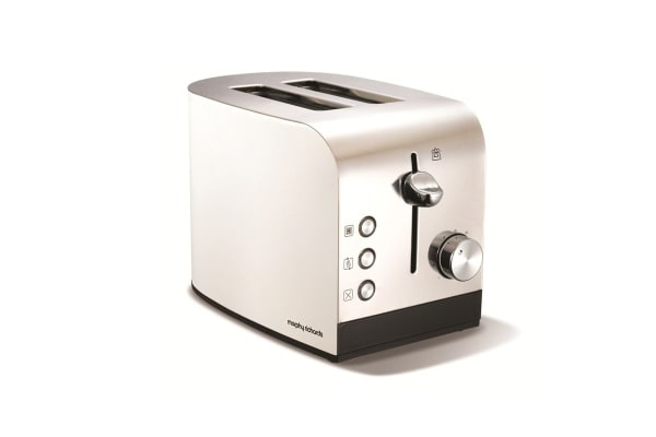 Morphy Richards Accents 2 Slice Toaster (White)