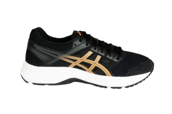 ASICS Women's GEL-Contend 5 Running Shoes (Black/Summer Dune, Size 6.5)