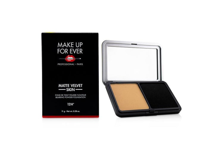 Make Up For Ever Matte Velvet Skin Blurring Powder Foundation - # Y305 (Soft Beige) 11g