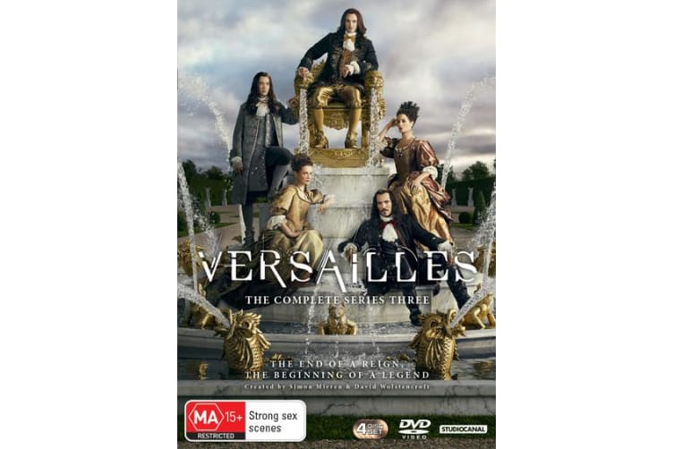 Versailles The Complete Series 3 Box Set DVD Region 4
