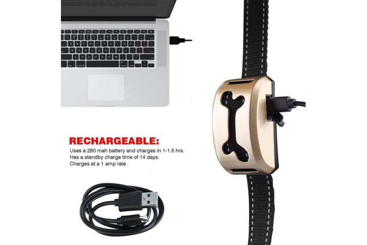 Rechargeable Dog Barking Controller Training Collar
