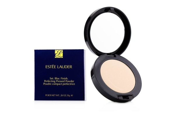 Estee Lauder Set. Blur. Finish. Perfecting Pressed Powder - # Light 8g/0.28oz