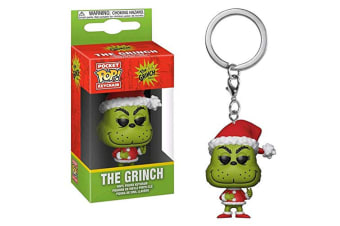 Dr Seuss Grinch Christmas US Exclusive Pocket Pop! Keychain