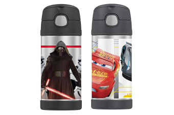 2pc Thermos Funtainer 355ml Insulated Stainless Steel Bottle Star Wars Ren Cars