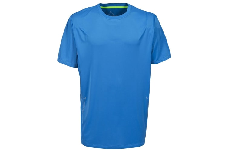 Trespass Mens Uri Short Sleeve Sports T-Shirt (Bright Blue) (M)