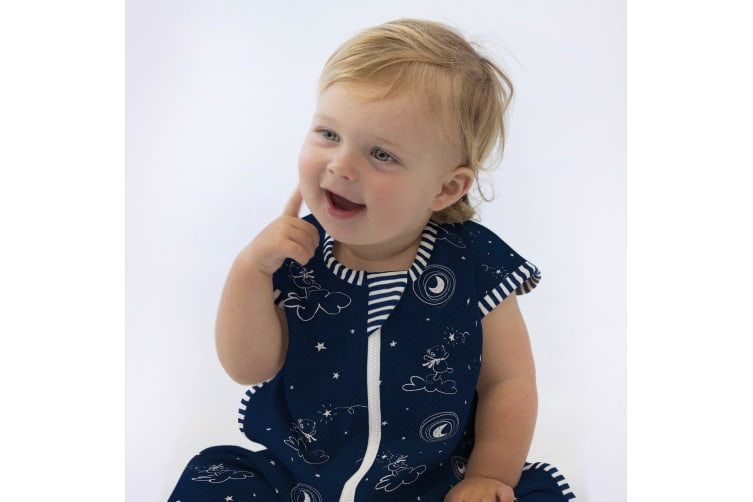 Bubba Blue Air+ Sleep Bag Wish Upon A Star 3-12 Months Navy
