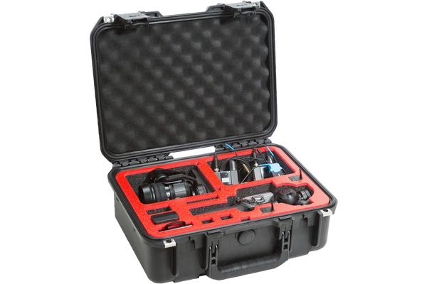 SKB iSeries 15106OSMO CAMERA CASE Designed for DJI OSMO 4K X3 and the X5 Action Cameras