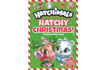 Hatchimals - Hatchy Christmas! Sticker Activity Book