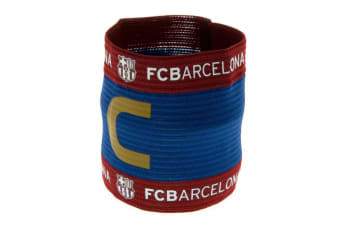FC Barcelona Official Captains Arm Band (Multicoloured) (One Size)