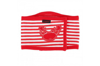 Puppia Beach Party Manner Dog Band (Red) (L)