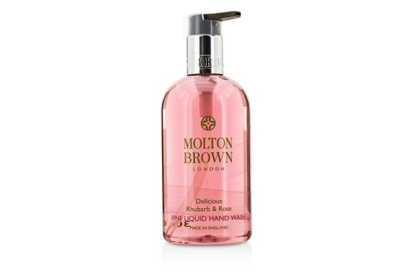 Molton Brown Delicious Rhubarb & Rose Fine Liquid Hand Wash (300ml/10oz)