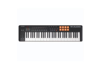 M-Audio Oxygen 61 USB MIDI Pad Portable Keyboard Controller w/Ableton Live Black