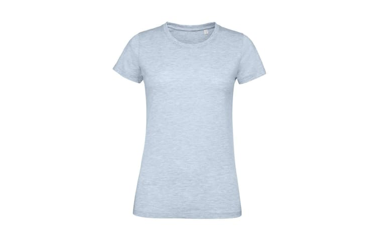 SOLS Womens/Ladies Regent Fit T-Shirt (Heather Sky) (M)