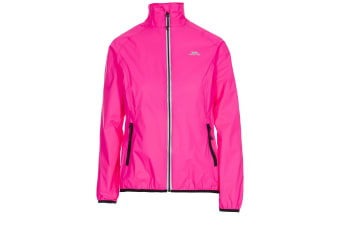Trespass Womens/Ladies Beaming Packaway Hi-Vis Jacket (Hi Visibility Pink)