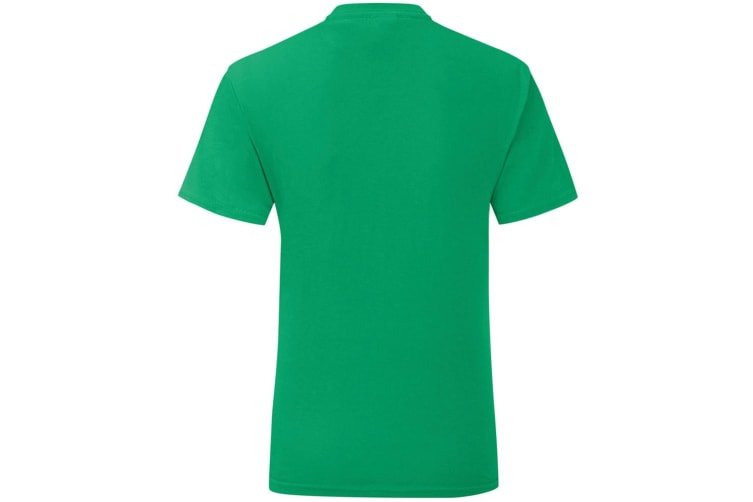 Fruit Of The Loom Girls Iconic T-Shirt (Kelly Green) (3-4 Years)