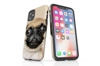 For iPhone 11 Shielding Back Case  Front Up Pug