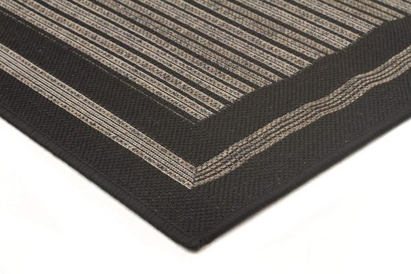Starry Night Indoor Outdoor Modern Black Rug 270X180cm