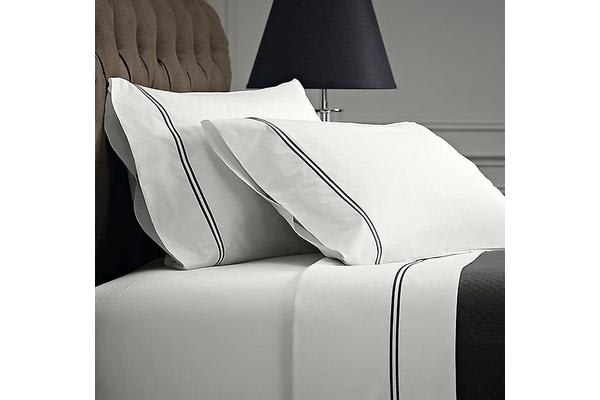 Style & Co 1000 Thread count Egyptian Cotton Hotel Collection Sorrento Sheet Set (Queen, White)