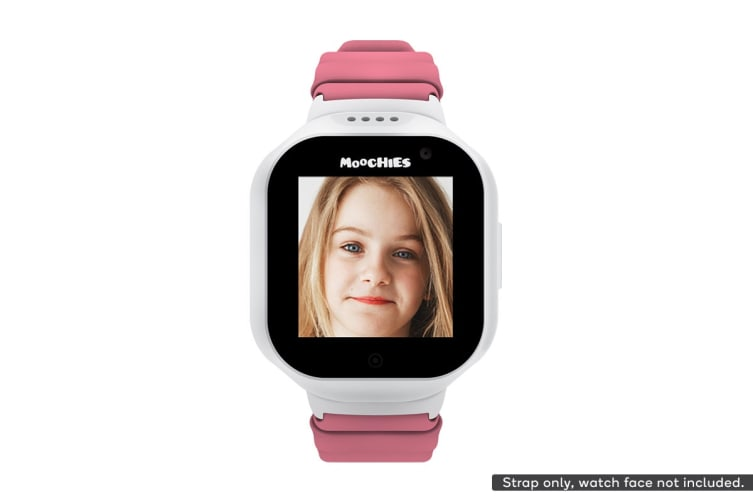 Moochies Silicone Watch Strap (Pink)