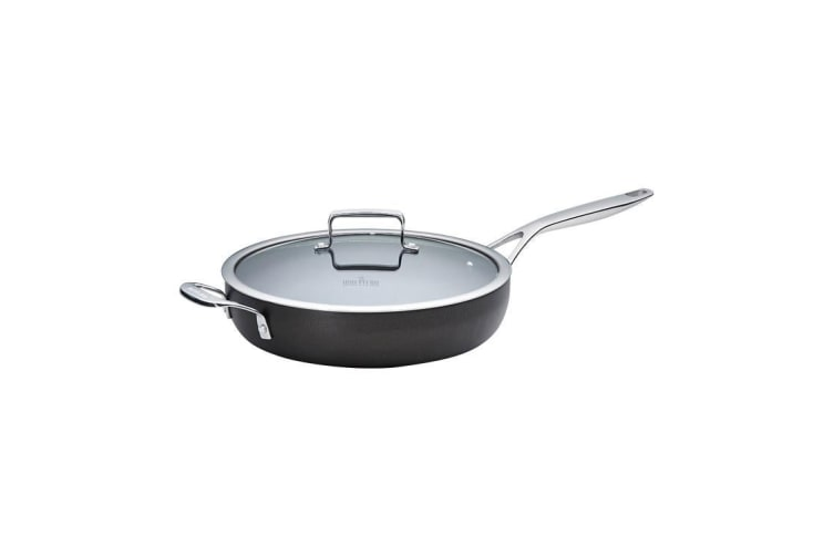 Wolstead Superior+ Saute Pan with Lid and Helper Handle 30cm - 4.1L