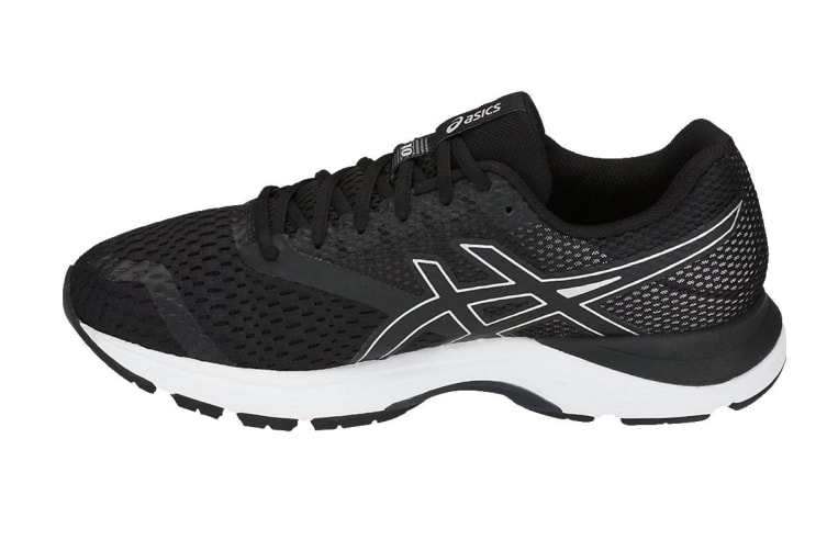 ASICS Men's GEL-Pulse 10 Running Shoe (Black/Silver, Size 11)