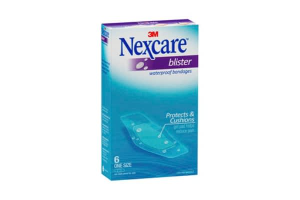 Nexcare Blister Waterproof Strips (26mm x 57mm, 6 Pack)