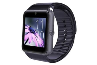 "TODO Bluetooth V3.0 Smart Watch 1.5"" Tft Lcd Rechargeable Antilost Call - Black"