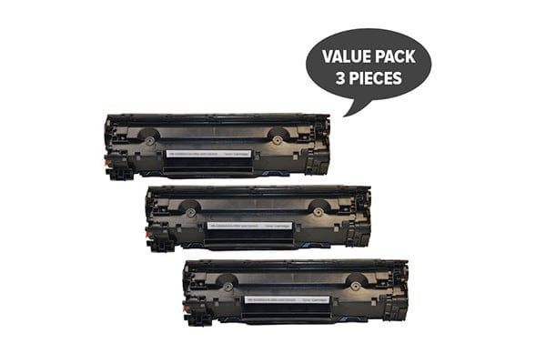 CE285A #85A Cart325 Black Generic Toner (Three Pack)