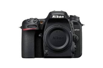 New Nikon D7500 20MP Body Digital SLR Camera Black (FREE DELIVERY + 1 YEAR AU WARRANTY)