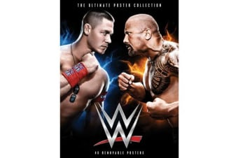 WWE: The Ultimate Poster Collection - 40 Removable Posters