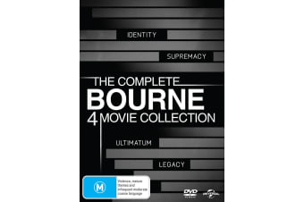 The Bourne Collection Box Set DVD Region 4
