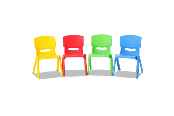 Set of 4 Kids Play Chairs