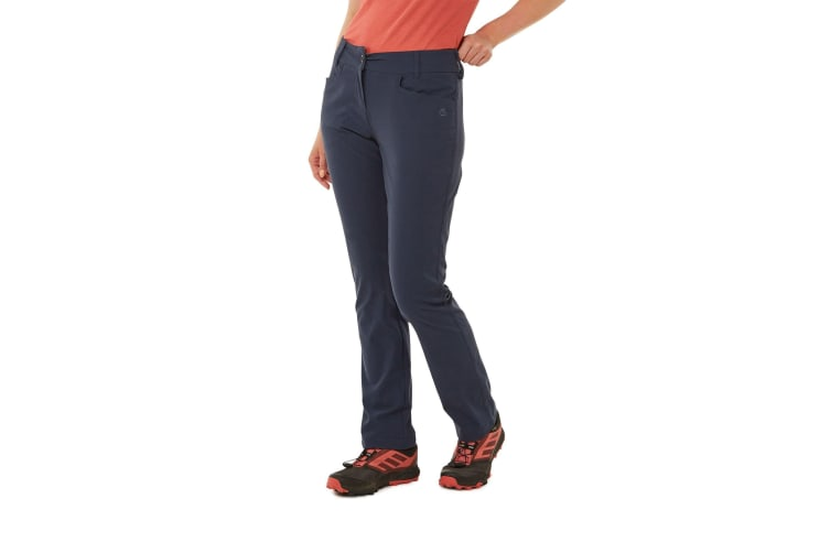 Craghoppers Womens/Ladies NosiLife Clara II Trousers (Soft Navy) (18L UK)