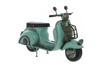 Vintage Scooter Collectable Model (Blue)