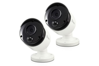 2PK Swann Extra IP Security Camera 5MP HD Bullet CCTV f/ 7580 Series Systems