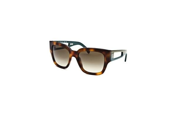 Fendi Women Rectangle Tortoise Sunglasses (FS5276-214-135)
